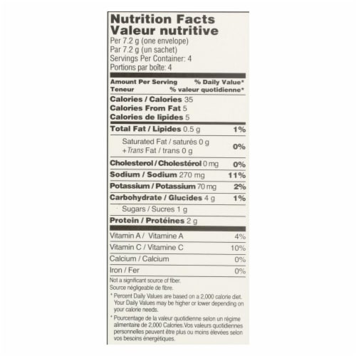 Edward and Sons Reduced Sodium Miso - Cup - Case of 12 - 1 oz. Perspective: back