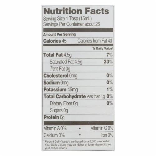 Let's Do Organic Coconut Cream - Organic - Heavy - Case of 12 - 13.5 fl oz Perspective: back