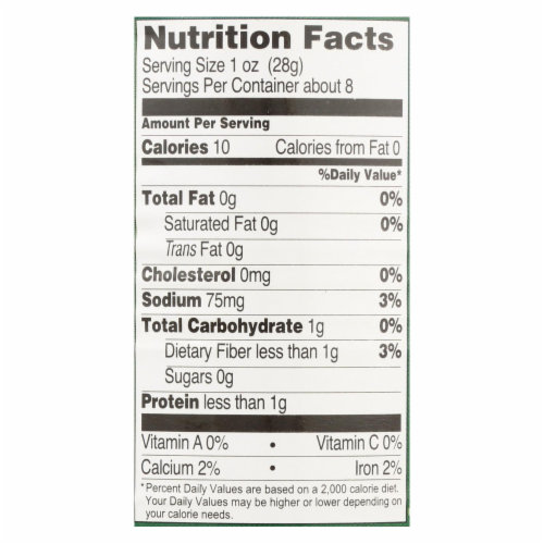 Native Forest Organic Hearts - Palm - Case of 12 - 14 oz. Perspective: back