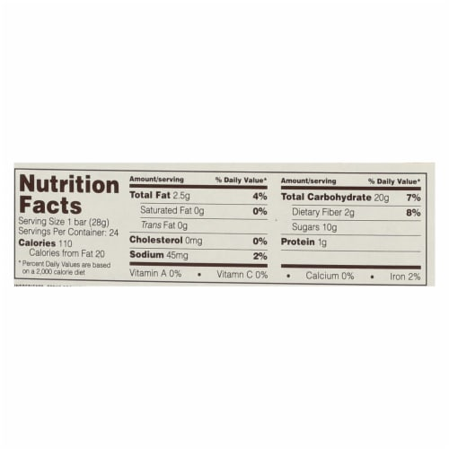Nature's Bakery Stone Ground Whole Wheat Fig Bar - Peach Apricot - 2 oz - Case of 12 Perspective: back