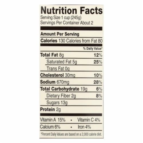 Pacific Natural Foods Bisque - Hearty Tomato - Case of 12 - 17.6 oz. Perspective: back