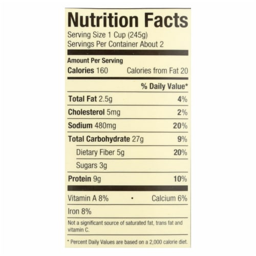 Pacific Natural Foods - Organic Italian Vegetable Soup Chicken Bone Broth - Case of 12 17 OZ Perspective: back