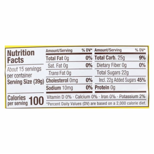Fox's U - Bet U - Bet Chocolate Syrup - U - Bet Chocolate - Case of 12 - 22 oz. Perspective: back