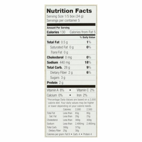 Streit's - Stuffing Mix Herb - Case of 12 - 6 OZ Perspective: back