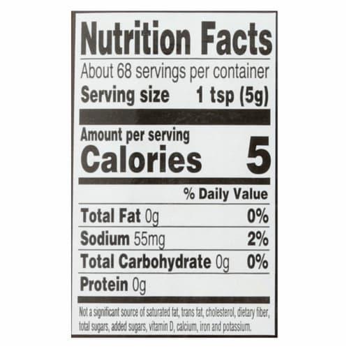 Koops' Organic Mustard: Spicy Brown Gluten Free - Case of 12 - 12 oz Perspective: back