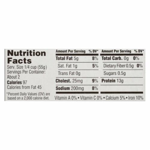 Season Brand Sardines - Skinless & Boneless in Tomato Sauce - Salt Added - 4.375oz Case of 12 Perspective: back