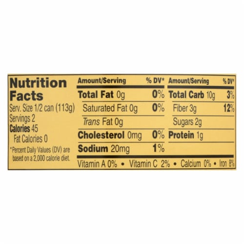 Reese Water Chestnuts - Sliced - Case of 12 - 8 oz. Perspective: back