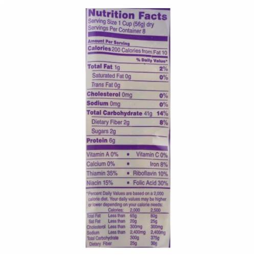 DaVinci - Bowties Pasta - Case of 12 - 1 lb. Perspective: back
