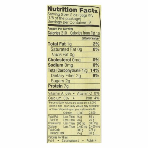 Alessi - Pasta - Organic - Case of 12 - 16 oz. Perspective: back