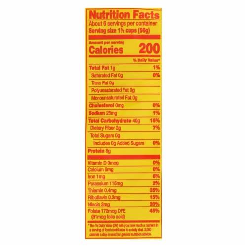 No Yolks - Enriched Egg White Pasta - Broad Noodles - Case of 12 - 12 oz. Perspective: back