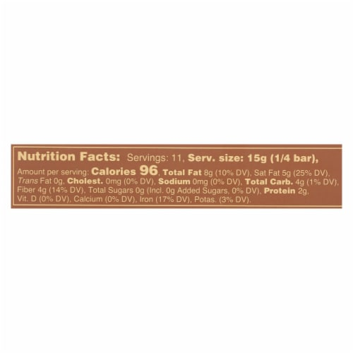 Guittard Chocolate Baking - Unsweetened - Case of 12 - 2 oz. Perspective: back