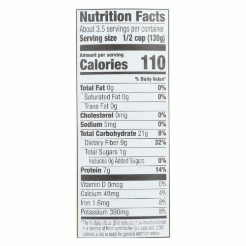 Kuner - Black Beans - No Salt Added - Case of 12 - 15 oz. Perspective: back