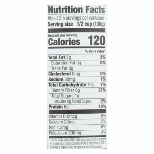 Kuner - Garbanzo Beans - No Salt Added - Case of 12 - 15 oz. Perspective: back