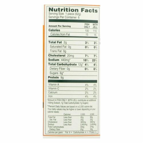 Manischewitz - Reduced Sodium Potato Pancake Mix - Case of 12 - 24 oz. Perspective: back