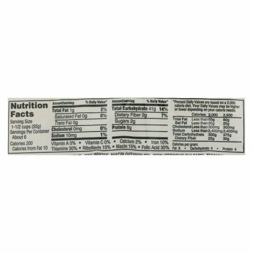 Manischewitz - Yolk Free Fine Noodles - Case of 12 - 12 oz. Perspective: back