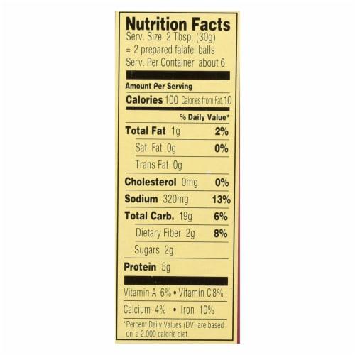 Manischewitz - Falafel Mediterranean Snack Mix - Case of 12 - 6.4 oz. Perspective: back