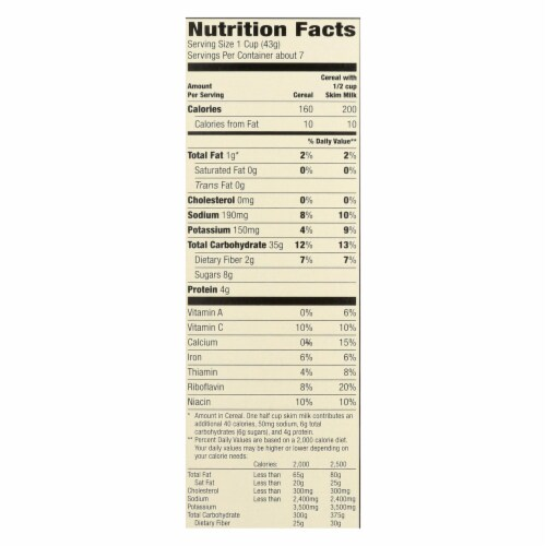 Arrowhead Mills - Cereal - Maple Buckwheat Flakes - Case of 6 - 10 oz. Perspective: back