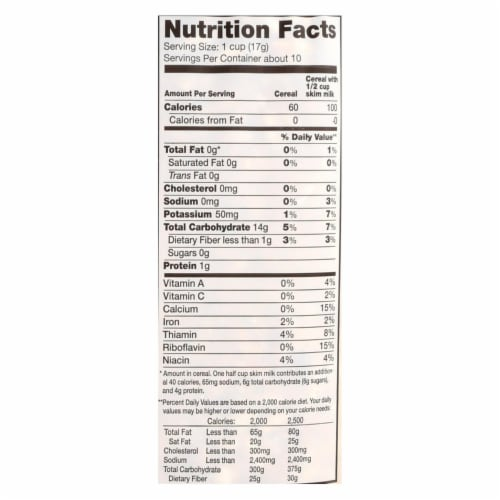 Arrowhead Mills - All Natural Puffed Rice Cereal - Case of 12 - 6 oz. Perspective: back