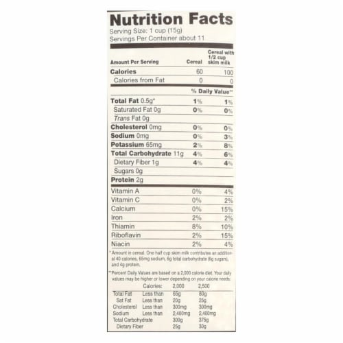 Arrowhead Mills - All Natural Puffed Millet Cereal - Case of 12 - 6 oz. Perspective: back
