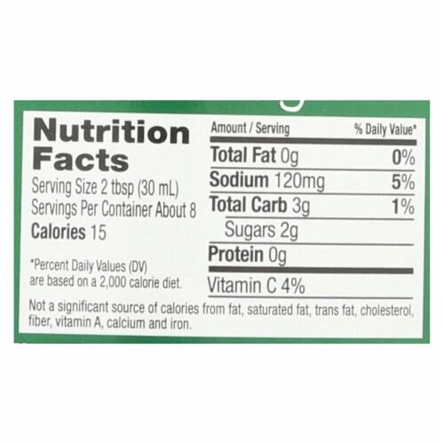 Maple Grove Farms - Fat Free Salad Dressing - Balsamic Vinaigrette - Case of 12 - 8 oz. Perspective: back