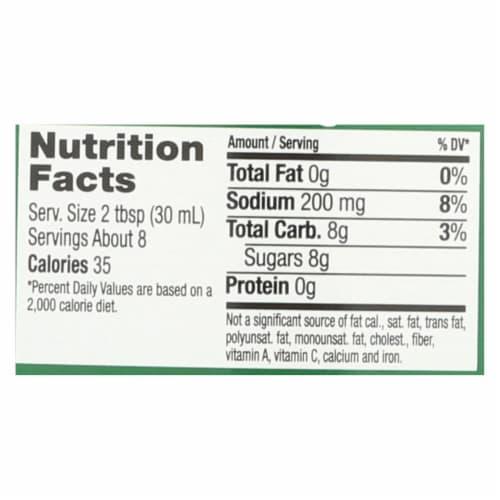 Maple Grove Farms - Fat Free Salad Dressing - Raspberry Vinaigrette - Case of 12 - 8 oz. Perspective: back
