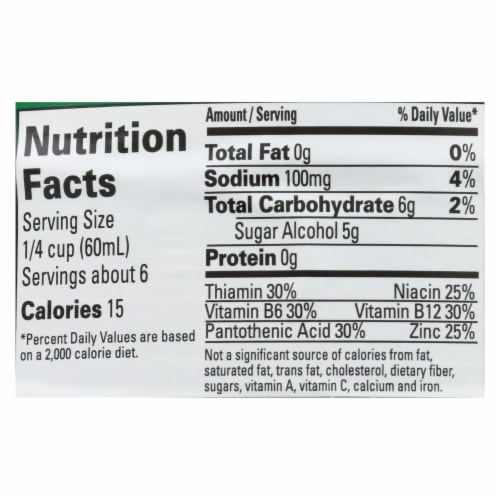 Maple Grove Farms - Vermont Sugar Free Low Calorie Syrup - Case of 12 - 12 Fl oz. Perspective: back