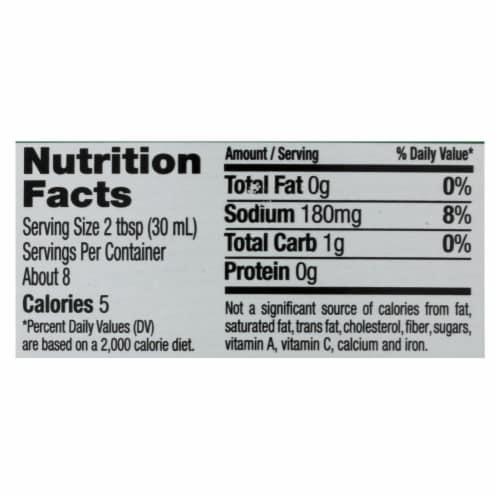 Maple Grove Farms - Sugar Free Salad Dressing - Raspberry Vinaigrette - Case of 12 - 8 oz. Perspective: back