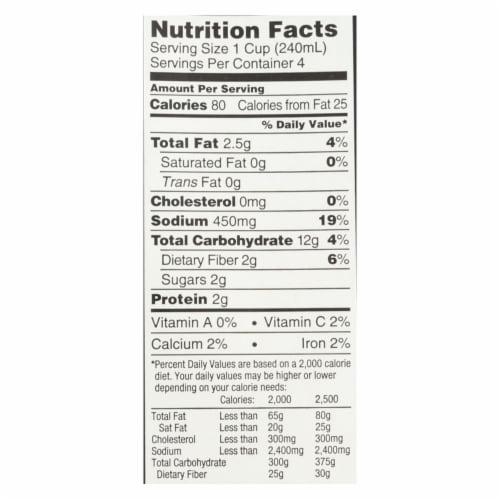 Imagine Foods Portobello Mushroom Soup - Creamy - Case of 12 - 32 Fl oz. Perspective: back
