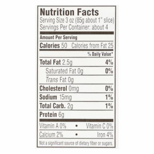 Mori-Nu Silken Tofu - Firm - Case of 12 - 12.3 oz. Perspective: back