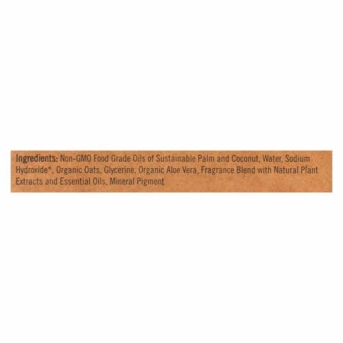 Sappo Hill Soapworks Bar Soap - Glycerine Creme - Aloe Oatmeal - 3.5 oz - Case of 12 Perspective: back