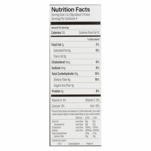 Ancient Harvest Organic Gluten Free Quinoa Supergrain Pasta - Rotelle - Case of 12 - 8 oz Perspective: back