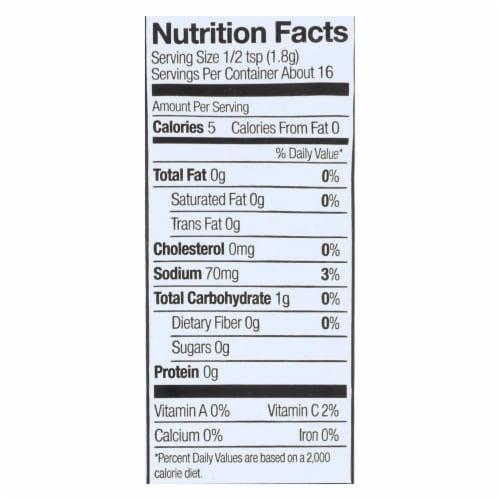 Simply Organic Onion and Chive Dip Mix - Case of 12 - 1 oz. Perspective: back