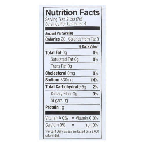 Simply Organic Vegetarian Brown Gravy Seasoning Mix - Case of 12 - 1 oz. Perspective: back