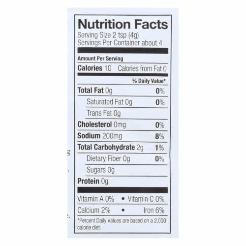 Simply Organic Sweet Basil Pesto Seasoning Mix - Case of 12 - 0.53 oz. Perspective: back