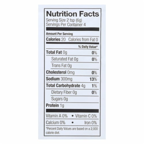 Simply Organic Roasted Turkey Flavored Gravy Seasoning Mix - Case of 12 - 0.85 oz. Perspective: back