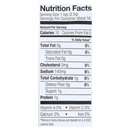 Simply Organic Ranch Dip Mix - Case of 12 - 1.5 oz. Perspective: back