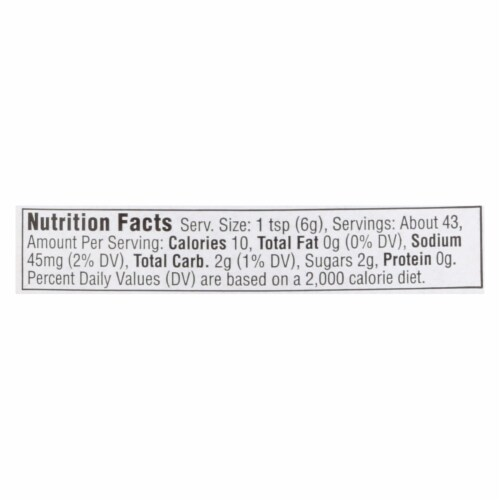 Annie's Naturals Organic Honey Mustard - Case of 12 - 9 oz. Perspective: back