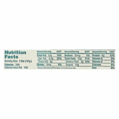 GoMacro Organic Macrobar - Granola with Coconut - 2 oz Bars - Case of 12 Perspective: back