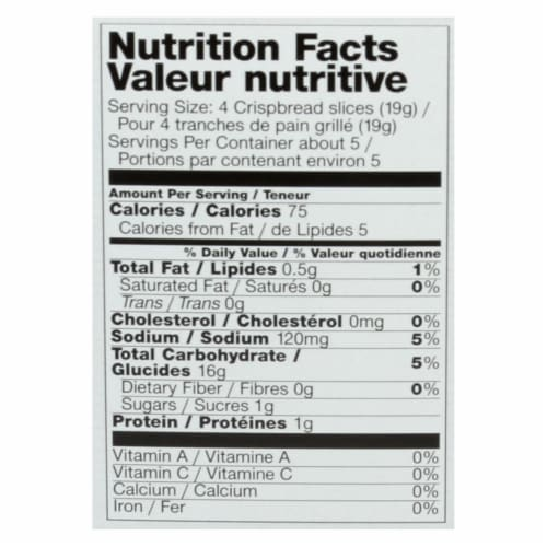 Natural Nectar Gluten Free Cracklebred - Tomato - Case of 12 - 3.5 oz. Perspective: back