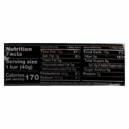 Kind Bar - Cranberry and Almond - Case of 12 - 1.4 oz Perspective: back