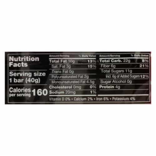 Kind Bar - Dark Chocolate Cherry Cashew Plus Anti-Oxidants- Case of 12 - 1.4 oz Perspective: back