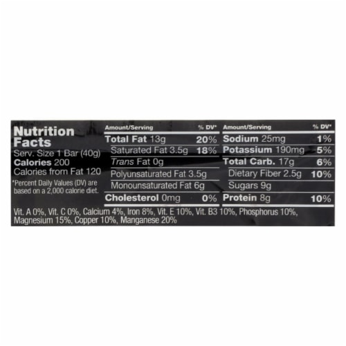 Kind Bar - Peanut Butter Dark Chocolate Plus Protein - Case of 12 - 1.4 oz Perspective: back