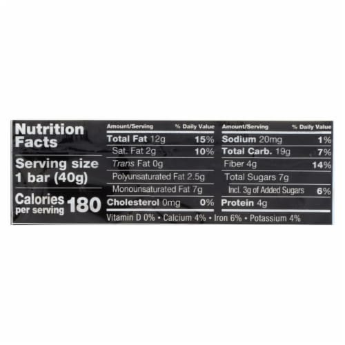 Kind Bar - Blueberry Vanilla and Cashew - 1.4 oz Bars - Case of 12 Perspective: back