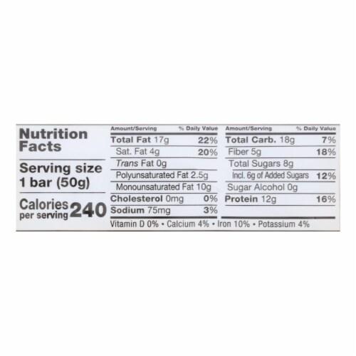 Kind Toasted Caramel Nut Bar - Case of 12 - 1.76 OZ Perspective: back