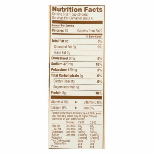 Kitchen Basics Chicken Stock - Case of 12 - 32 Fl oz. Perspective: back