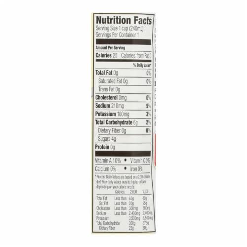 Kitchen Basics Vegetable Stock - Case of 12 - 8.25 Fl oz. Perspective: back