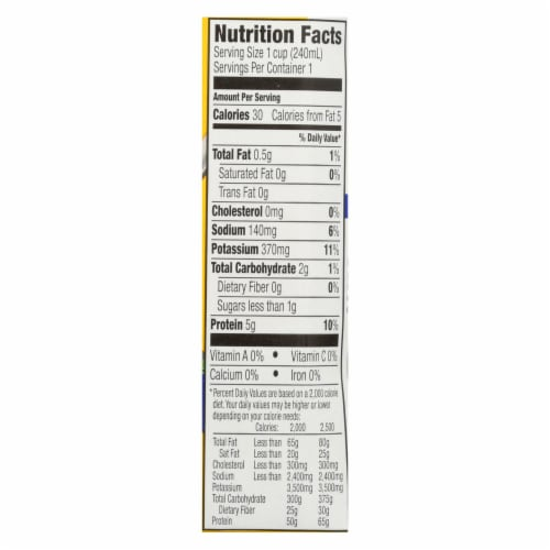 Kitchen Basics All Natural Unsalted Chicken Stock  - Case of 12 - 8.25 OZ Perspective: back