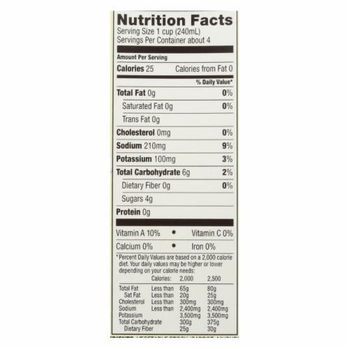 Kitchen Basics Vegetable Stock - Case of 12 - 32 Fl oz. Perspective: back