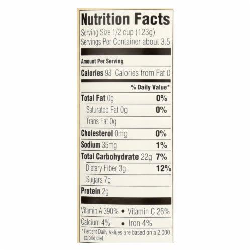 Farmer's Market Organic Pumpkin - Potato Puree - Case of 12 - 15 oz. Perspective: back