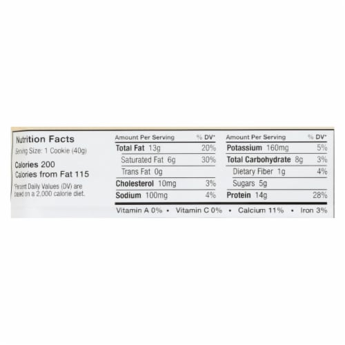 Power Crunch Bar - French Vanilla Cream - Case of 12 - 1.4 oz Perspective: back